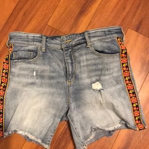 Jean shorts Anthropologie